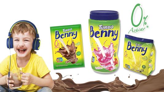 Turbo Benny 0% Azúcar se incorpora a la línea de producto